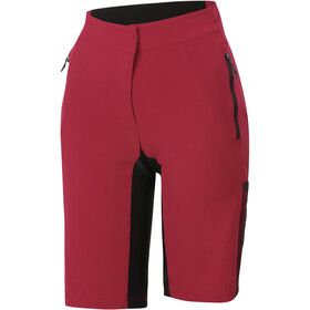 Sportful Supergiara Overshorts Women red rumba